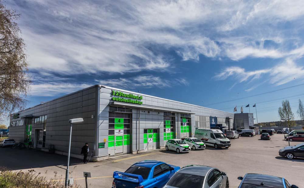 Autolasikeskus Vantaalla